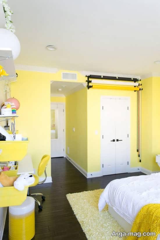 انواع دیزاین جالب رنگ لیمویی
