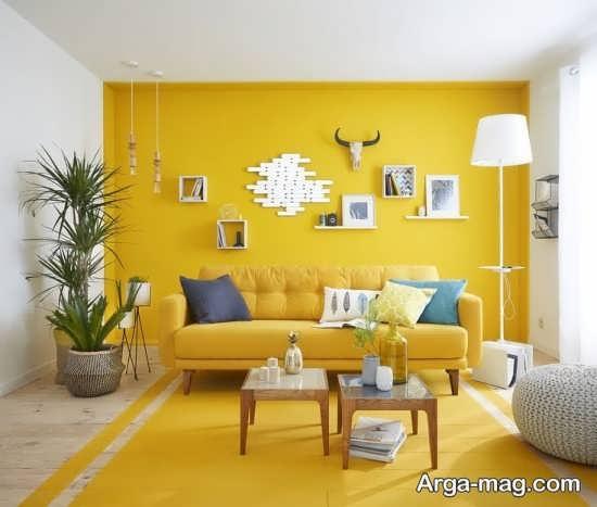 طراحی بسیار جالب رنگ لیمویی