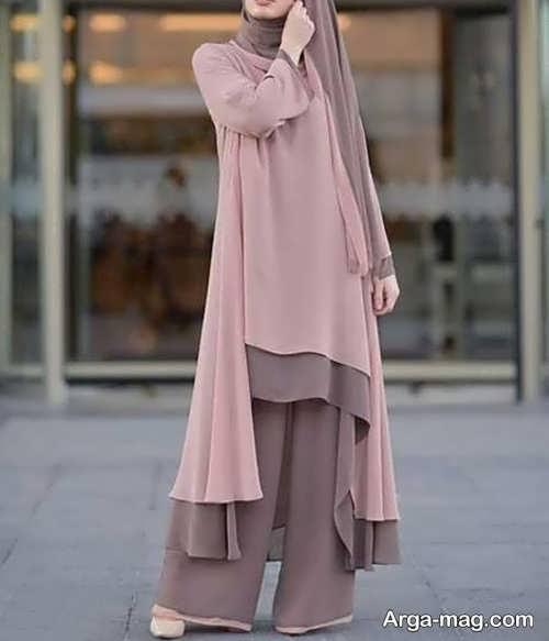 لباس ساده و گشاد