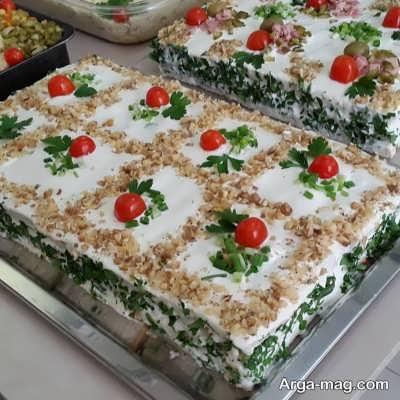 طرز تهیه کیک مرغ مجلسی چگونه است