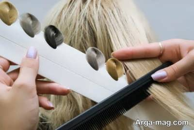 رنگساژ برای موی بلند و کوتاه