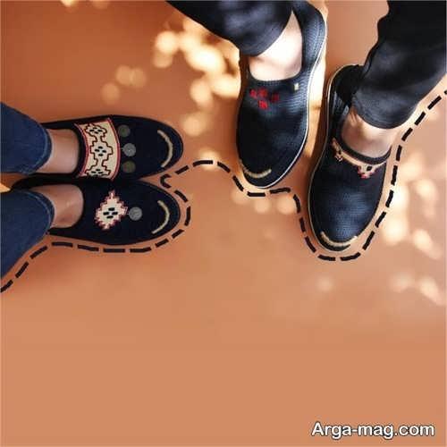ست کفش اسپرت زنانه و مردانه