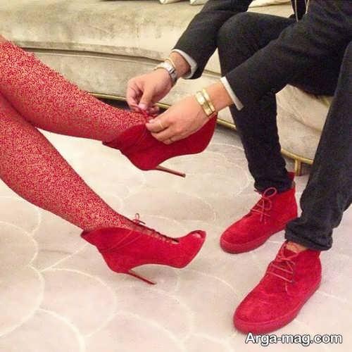 ست کفش شیک زنانه و مردانه