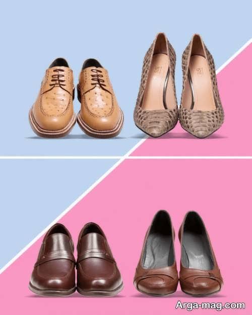 مدل ست کفش زنانه و مردانه شیک