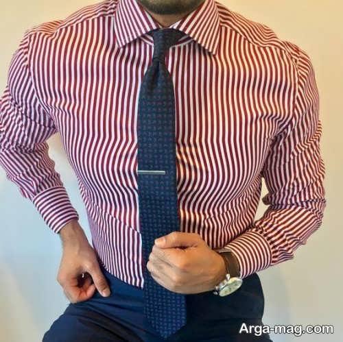 پیراهن راه راه و شیک مردانه