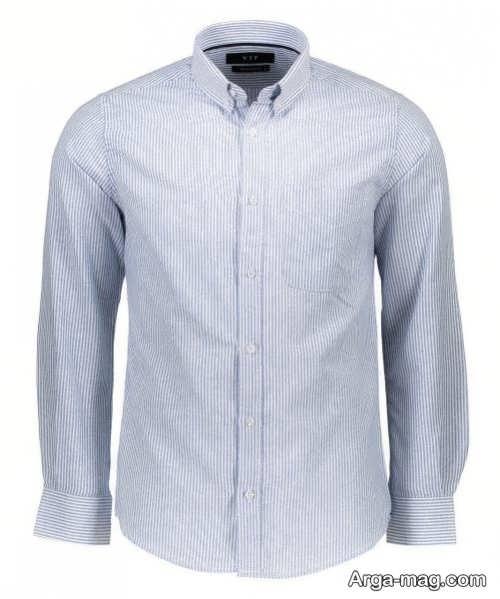 مدل پیراهن راه راه مردانه جدید