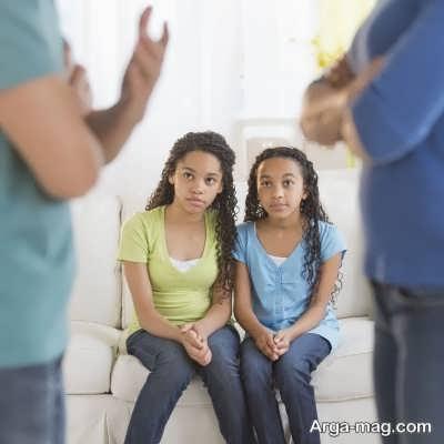 مشاجره والدین و تاثثیرات منفی آن بر کودکان