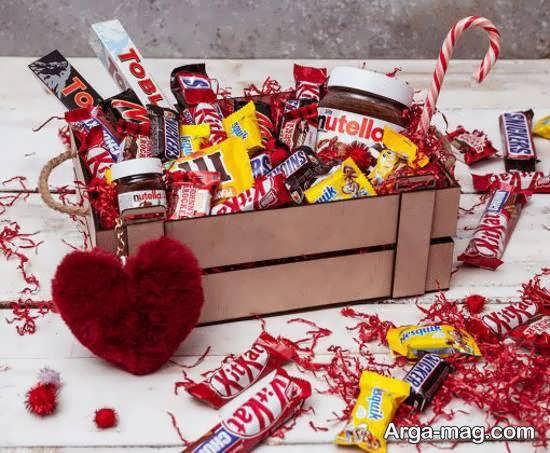 تزیین شکلات جهت هدیه دادن