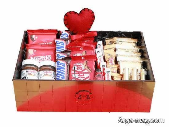 انواع ایده های زیبای تزیین شکلات برای هدیه دادن