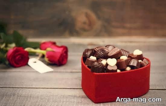 نمونه هایی دوست داشتنی از تزیین شکلات جهت هدیه دادن