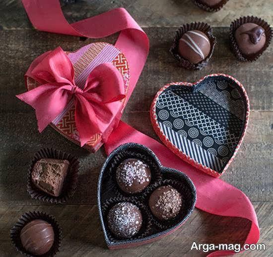 انواع ایده های رمانتیک و فانتزی دیزاین شکلات برای هدیه دادن
