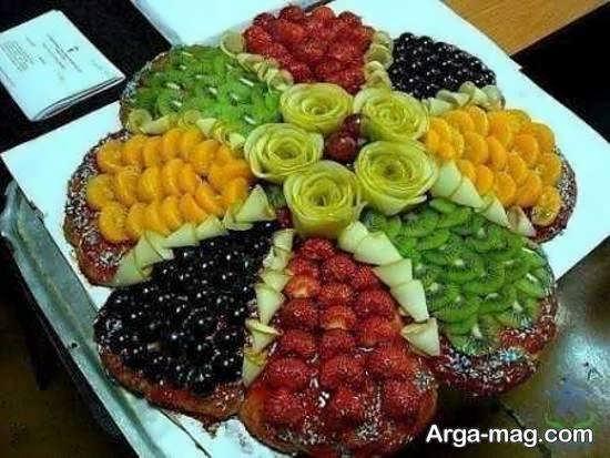 دیزاین و زیباسازی میوه پوست کنده