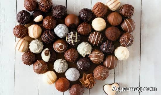 انواع نمونه های ایده آل و خاص تزیین شکلات برای هدیه دادن