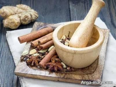 مواد لازم برای درست کردن گرام ماسالا