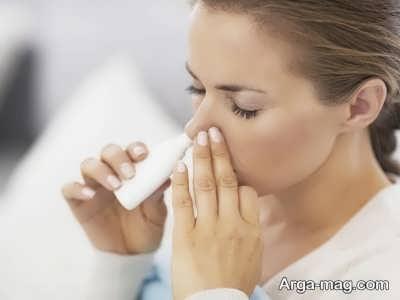 مصرف دارو برای بهبود گرفتگی بینی