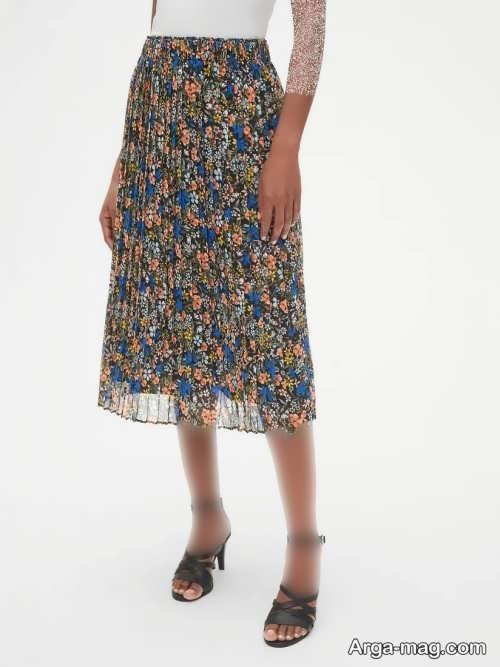مدل دامن تابستانی شیک و زیبا