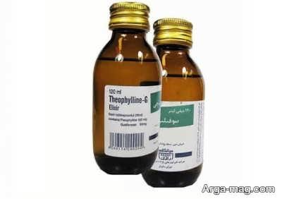 نحوه مصرف دارویی نوشیدنی تئوکال جی