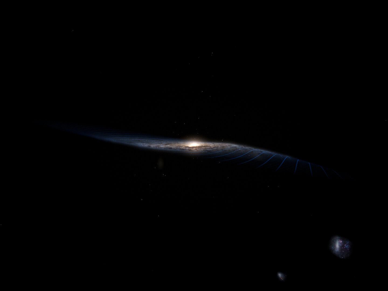 آشنایی با دلیل تاریک بودن فضا