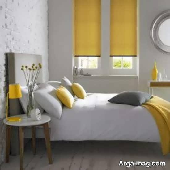 طراحی متفاوت اتاق خواب طوسی