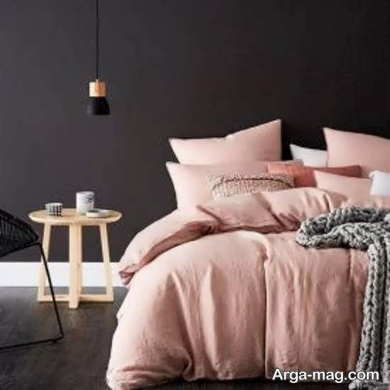 ایده های زیبای طراحی اتاق خواب طوسی