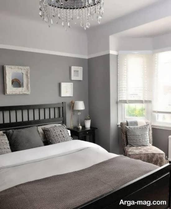 طراحی اتاق خواب طوسی