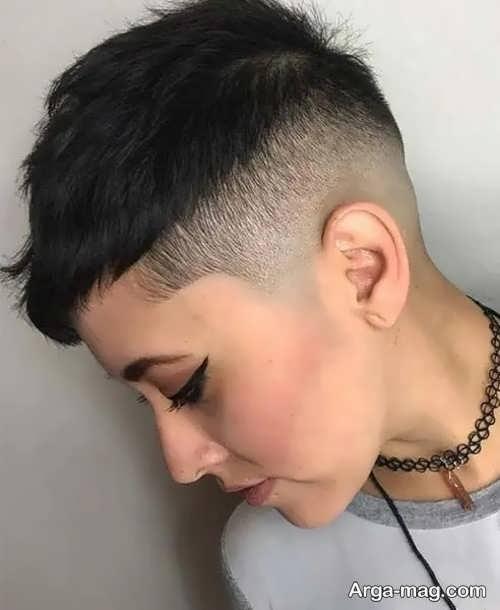 مدل موی دخترانه آندرکات شیک