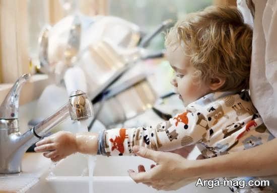 نحوه صحیح شستن دست ها