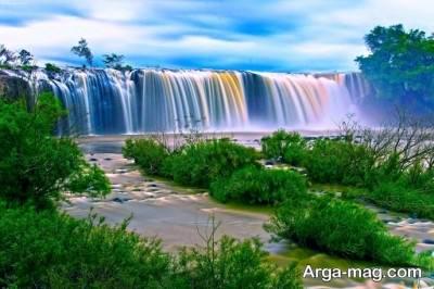 تعبیر خواب منوچهر مطیعی درباره آبشار