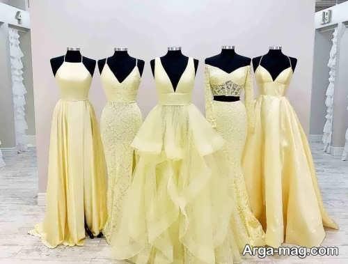 ست لباس عروس همراه با ساقدوش