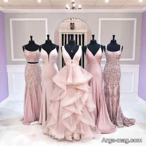 ست لباس عروس با ساقدوش ها