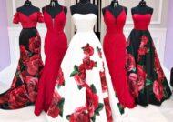 ست لباس عروس با ساقدوش