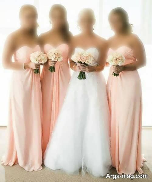 ست لباس ساقدوش عروس