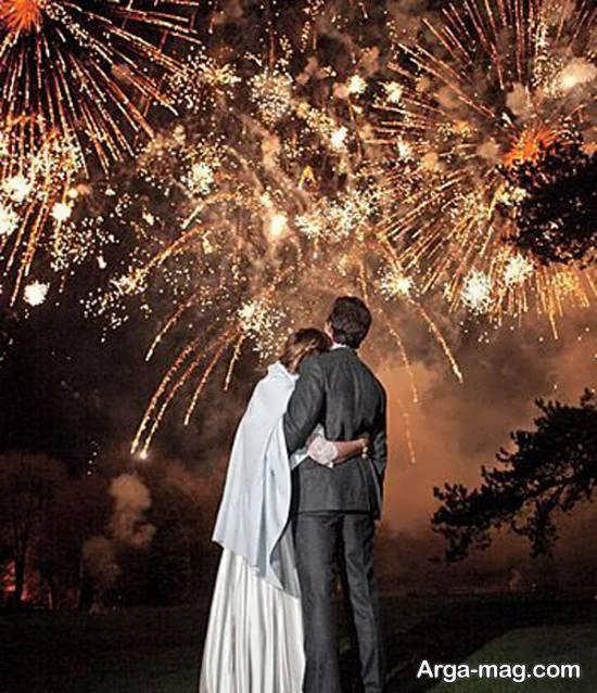 آشنایی با نورافشانی در مراسم عروسی