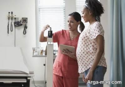 دوره های مختلف بارداری و ثابت ماندن وزن