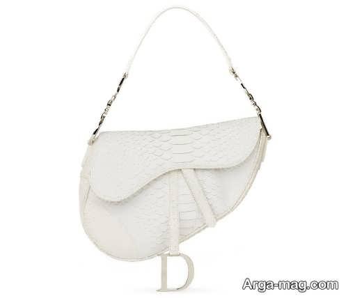 مدل کیف ساده و زیبا سفید