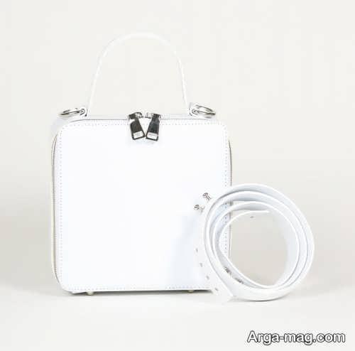 مدل کیف مجلسی و سفید