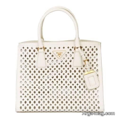 کیف زنانه سفید