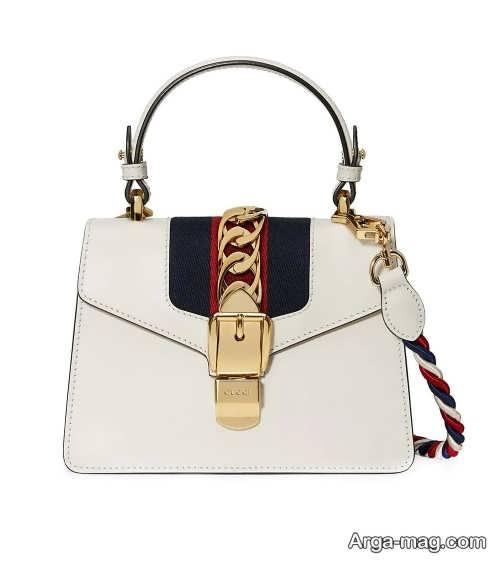 مدل کیف دو رنگ