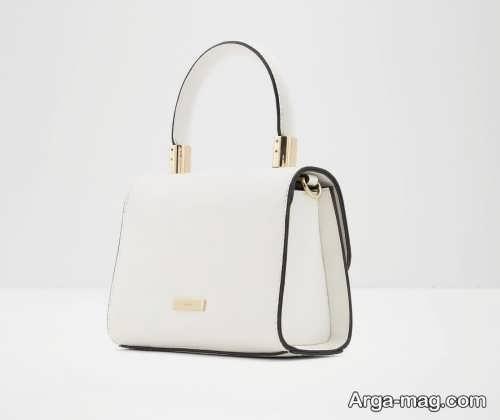 مدل کیف سفید زنانه شیک و زیبا