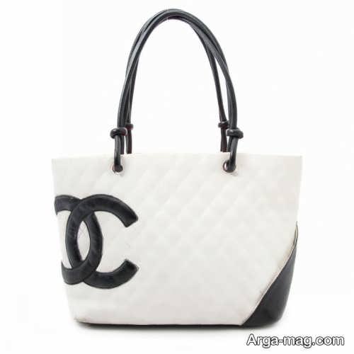 مدل های کیف سفید و مشکی