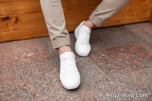 ست کفش سفید مخصوص آقایان