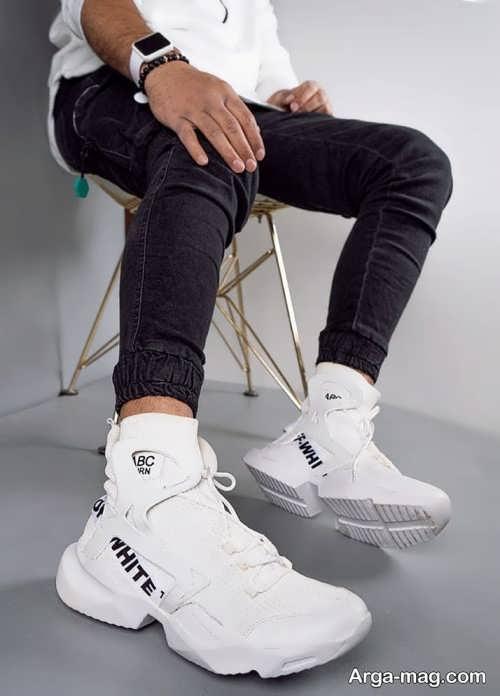 ست کفش اسپرت و سفید
