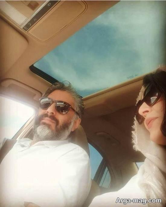 عکس منتشر شده از ساره بایت و همسرش