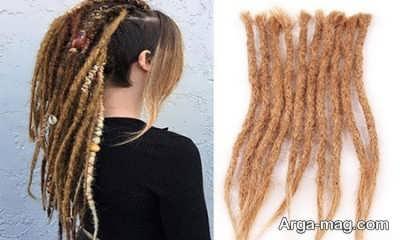 آموزش باز کردن بافت موی دردلاک