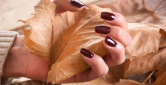 لاک قهوه ای برای پوست های تیره