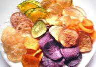 آشنایی با طرز تهیه چیپس سبزیجات
