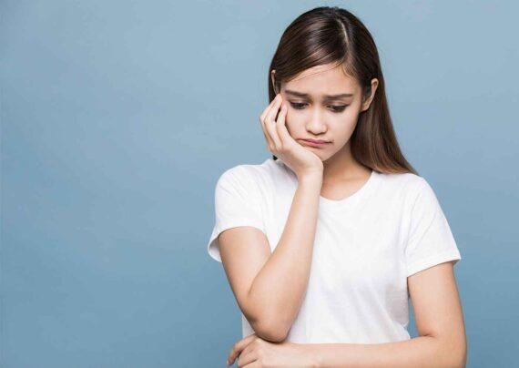علت استرس در دختران نوجوان