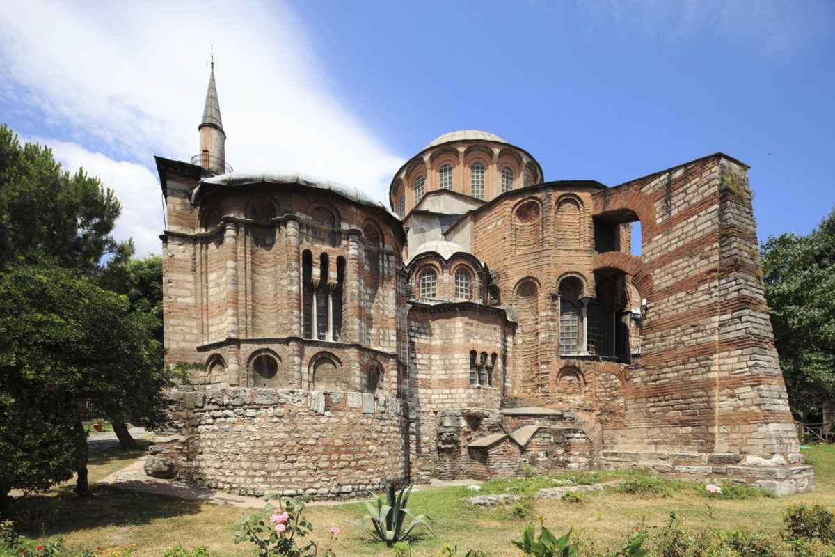 کلیسای ایا ایرنه با معماری شگفت انگیز