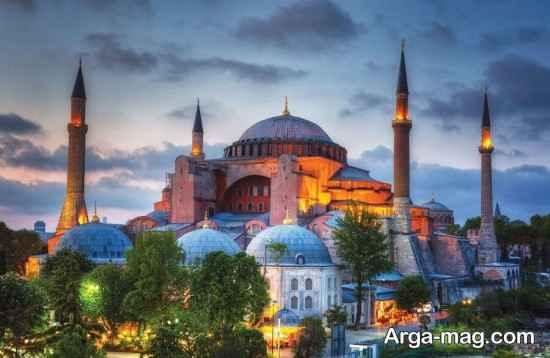 معماری زیبای ایاصوفیه