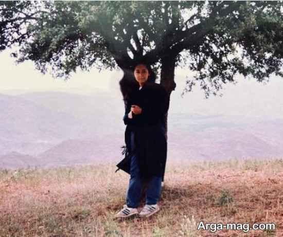عکسی نیکی کریمی در 23 سال پیش که کیارستمی ثبت کرد!